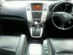 2007 lexus rx400h navigation system 2007 lexus rx400h se hybrid electric 07 u0027reg auto fsh top spec