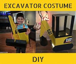 Truck Halloween Costume Instructions Tips Diy Construction Truck Excavator