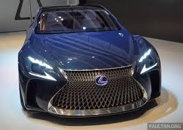 lexus lfa concept tokyo 2015 lexus lf fc concept previews next ls image 399049