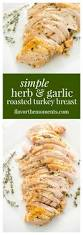 herb roasted turkey with wild simple herb and garlic roasted turkey breast