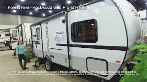 rockwood trailers floor plans forest river rockwood geo pro g17rk youtube