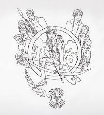 the hunger games coloring pages for kids to print projects to