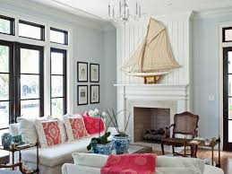 Beach Themed Living Room by Amazing Coastal Living Room Design Natural Stone Fireplace Square