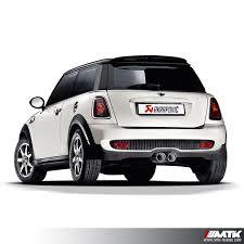 siege auto mini cooper ligne échappement akrapovic evolution line mini cooper s r56