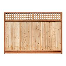 wood fence panels at home depot wood fence panels best price