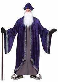 dark wizard costume for men adults mens scarecrow straw man fancy