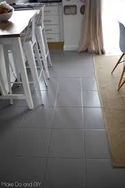 Painting Laminate Floors Diy Painted Tile Floor Six Months Later Make Do And Diy
