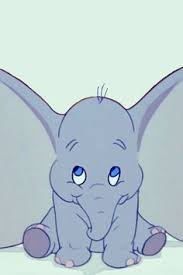 Glitter Dumbo Merry Free Baby Animal Clip Clipart Animals Animated Gifs