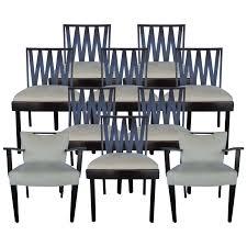 mid century modern dining room sets viyet designer furniture seating paul frankl mid century
