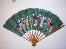 decorative fan antique fans