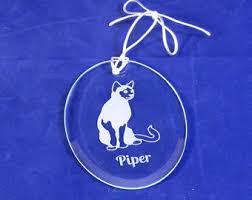 personalized pet memorial ornament breed sun catcher