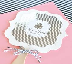 personalized wedding fans metallic foil personalized paddle fans
