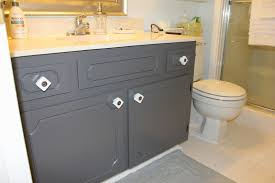 painting bathroom cabinets brown changes by painting bathroom