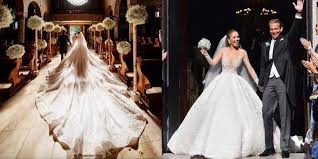 prix d une robe de mari e la robe de mariée à 1 million d euros de swarovski