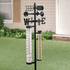 Patio Thermometer by 58 Off Large Outdoor Thermometer Weather Station Decorative