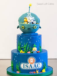 octonauts birthday cake octonauts birthday cake haircut octonauts party