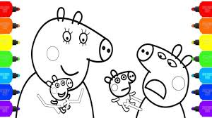 peppa pig babies coloring pages how to color baby peppa pig