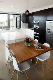 kitchen table island combination 40 cool modern kitchen design ideas for your inspiration modern
