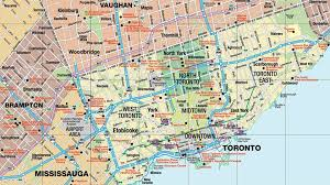 touristic map of magazines guides maps tourism toronto