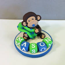 outstanding monkey cake topper baby shower 52 in best baby shower