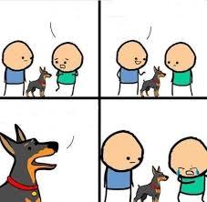 Comic Meme - dog hurt comic blank template imgflip