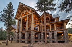 large log home floor plans pioneer log home floor plan millersburg pioneer log homes of bc