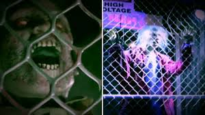 electrified maniac spirit halloween high voltage fenced in zombie spirit sneak peeks youtube