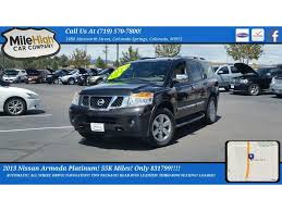 nissan armada buy here pay here black nissan armada in colorado for sale used cars on buysellsearch