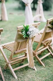 burlap chair sashes 10 ways to add wow to your wedding chairs