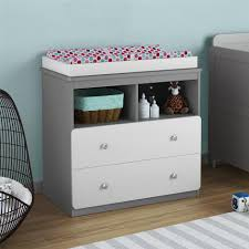 Espresso Changing Table Bedroom Charming Changing Table Dresser For Nursery Furniture