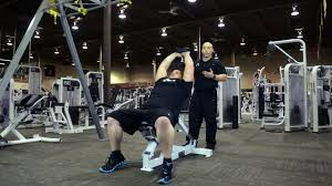 incline dumbell bench pullovers on vimeo