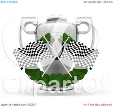 Two Racing Flags Logo Royalty Free Rf Checkered Flag Clipart Illustrations Vector