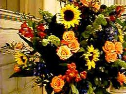 church flower arrangements church flower arrangement
