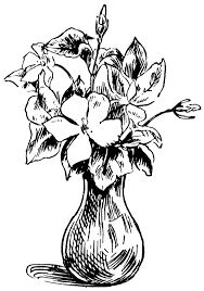 Draw A Flower Vase Flowers In A Vase Clipart Free Download Clip Art Free Clip Art