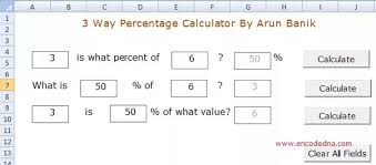 percentage calculator excel how to create a macro in ms excel which calculates the percentage