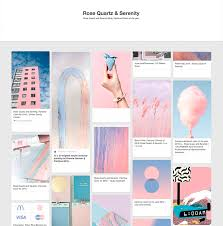 how pantone colors of the year rose quartz and serenity join the