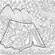 printable coloring pages zentangle printable coloring page zentangle cing coloring book coloring