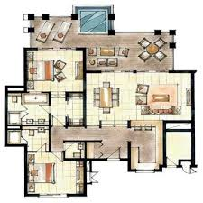 The House Plans 242 Best Rendered Plans Images On Pinterest Floor Plans