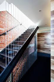 Exposed Brick Wall Modern Stairs Exposed Brick Wall Warehouse Conversion In Fitzroy
