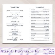 church wedding program catholic church wedding booklet template 28 images catholic