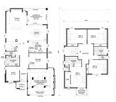5 Bedroom 2 Storey House Plans Unusual Idea Two Storey House Plans Perth 4 Designs 2 Story Home Act
