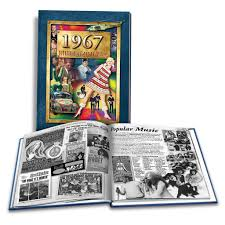 1967 what a year it was 50th birthday or anniversary gift