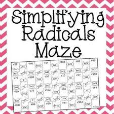 best 25 simplifying radicals ideas on pinterest algebra