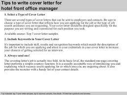 cover letter hotel front desk hotel front desk supervisor cover