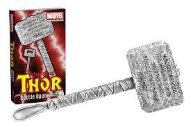 amazon com diamond select toys marvel thor s hammer sculpted bottle