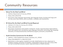 Department For The Blind Disability Resource Directory Ppt Download