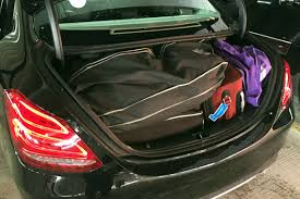 New C What Can You Fit In A Mercedes Benz C Class Trunk News Cars Com