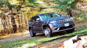 wrecked black jeep grand cherokee 2018 jeep grand cherokee srt trackhawk first drive review