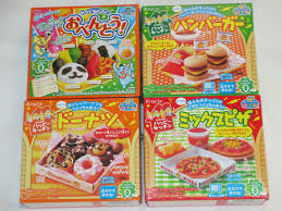 kracie happy kitchen popin cookin 4pcs set japanese diy candy