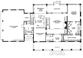 classical style house plan 3 beds 3 5 baths 3271 sq ft plan 137